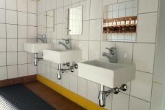 Darauf sind wir auch besonders stolz. Waschbecken für jede (kleine) Größe.